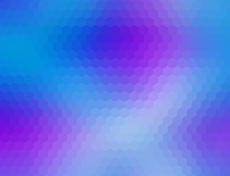 Low poly hexagon abstract geometrical vector background
