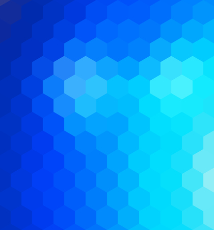 Low poly hexagon abstract geometric background