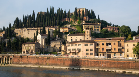 View on Verona accross the river Adige photo