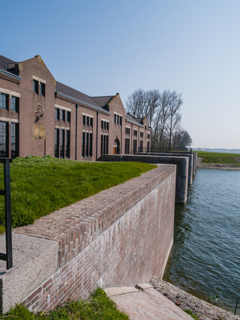 lemmer: The historic Wouda steam pumping station from 1920 is the largest of its kind ever built and is still in operation  It pumps away excess water in the province of Friesland