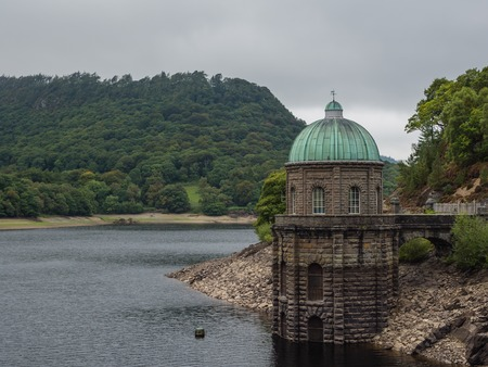 elan: One of the reservoirs in the Elan Valley in Wales, UK Stock Photo