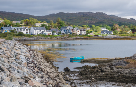 Landscape in the West Highlands of Scotland near Arisaig