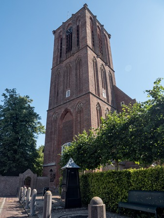 14th century: Historic 14th century St. Nicholas Church in the fishing town of Elburg, the Netherlands