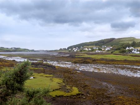 skye: Landscape near Waterstein, north of Neist point on the isle of Skye