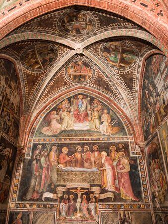 Chapel of Santa Caterina, Castell Arquato, Italy