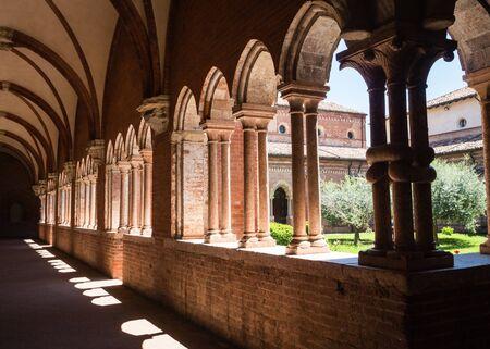 Abbazia di Chiaravalle della Colomba near Piacenza, Italy Imagens