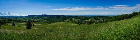 Italian landscape in the Emilia-Romagna region, Italy
