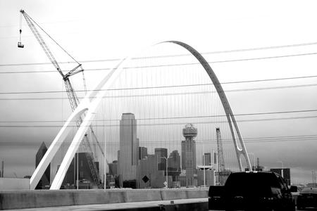 Bridge in City Editorial