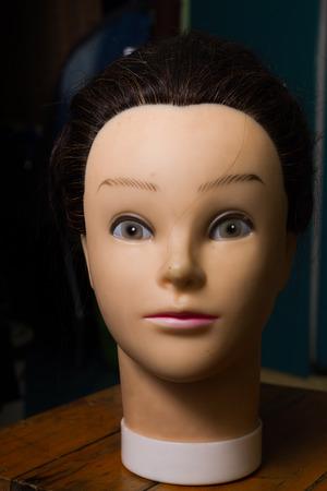 mannequin head: Mannequin head is  beautiful Girls her names is Natalie