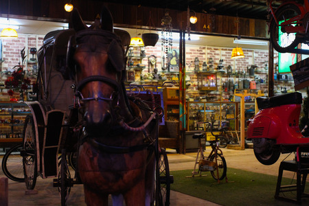 trotter: 30 year old horse harness