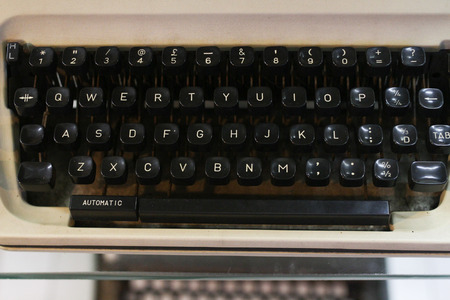 30 years old: Age 30 years old typewriters