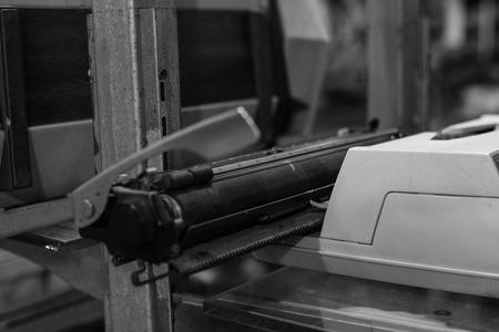 30 years: Age 30 years old typewriters