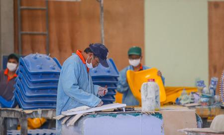 fibra de vidrio: Thailand Factory chair and rowing fiberglass.