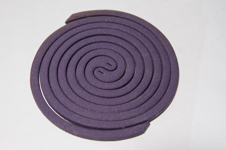 malaria: Mosquito repellent mosquito lavender and match.