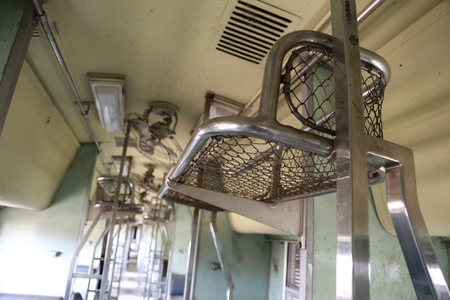 The thai abandoned train