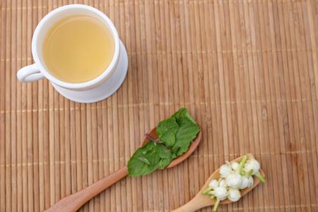 thai Jasmine Tea Reklamní fotografie