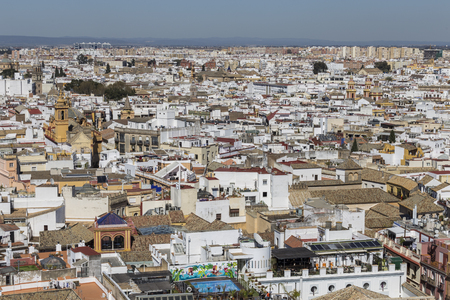 View of Seville city Imagens