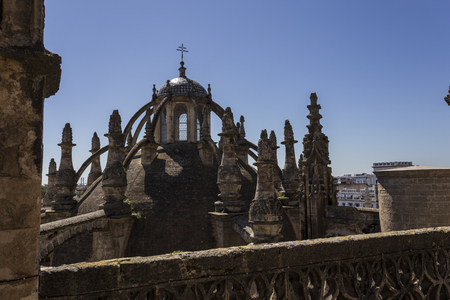 View of Seville city 版權商用圖片