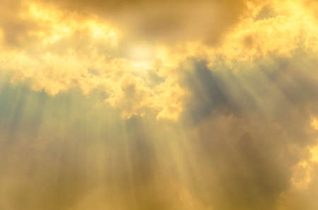 sky ray of heaven light Stock Photo