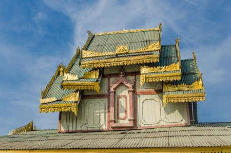 temple in Myanmar Stock Photo