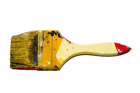 brush isolated on white background Stock Photo