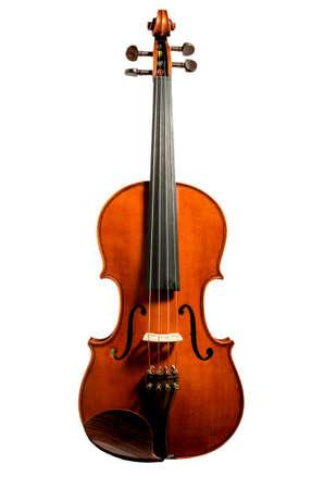 violoncello: violino isolato su sfondo bianco