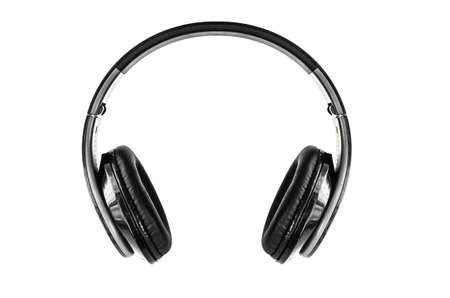 headphone isolated on white background Stock Photo