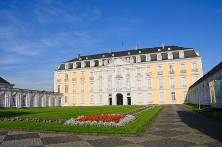 westfalen: Castle of Augustusburg - Brühl, Germany Stock Photo