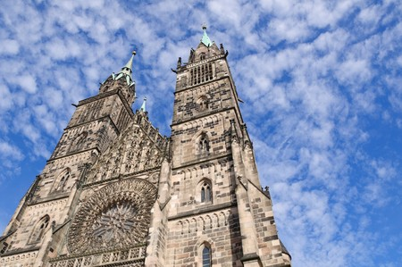 St. Lorenz Church - Nürnberg/Nuremberg, Germany Standard-Bild