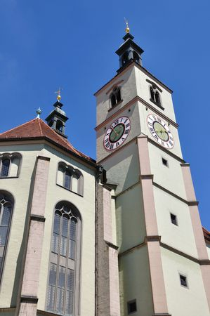 regensburg: Neupfarrkirche - Regensburg, Germany