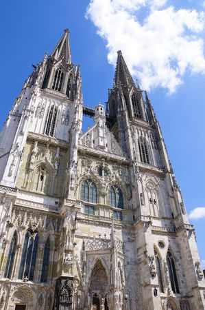 regensburg: Cathedral - Regensburg, Germany Stock Photo