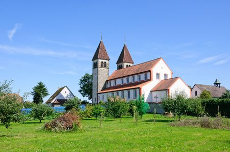 Church of St.Peter and Paul - Reichenau, Germany Archivio Fotografico