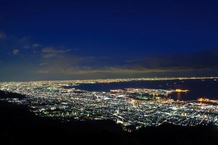 View from Kikuseidai, Maya - Kobe, Japan