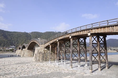 historical sites: Kintaikyo Bridge - Iwakuni, Yamaguchi, Japan