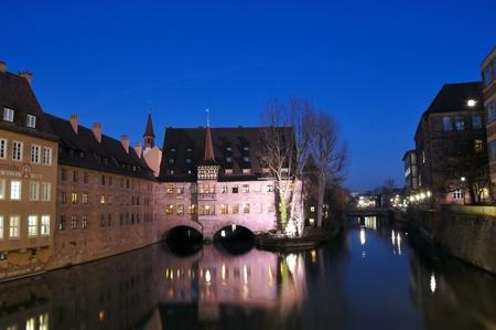 Heilig Geist Spital in Nürnberg/Nuremberg, Germany
