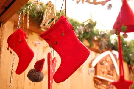 Christmas market in Germany Stock Photo