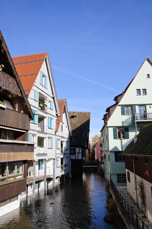 half timbered house: Old District of Ulm, Germany