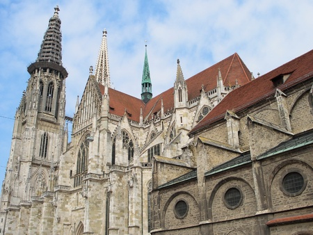 Cathedral - Regensburg, Germany Stock Photo - 9423736