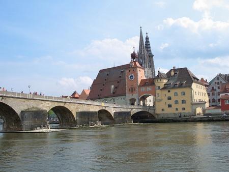 regensburg: Old Town and the Danube - Regensburg, Germany
