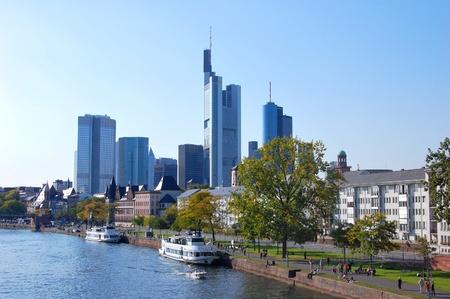 Frankfurt am Main, Germany Standard-Bild