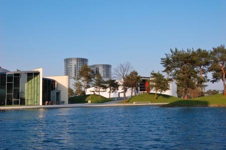 Autostadt - Wolfsburg, Deutschland Lizenzfreie Bilder