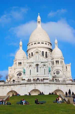 sacre: Basilique du Sacre Coeur - Paris, France