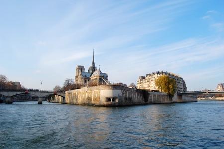 cite: Ile de la Cite and the Seine - Paris, France