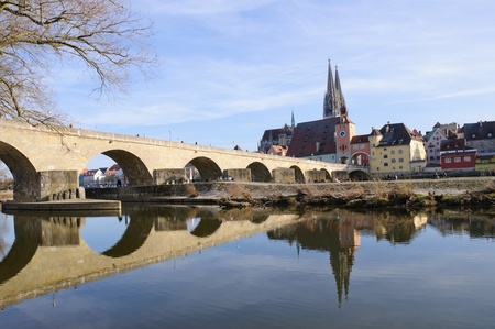 Old Town of Regensburg, Germany Stock Photo - 9178380