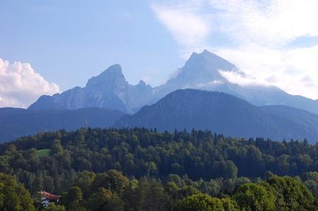 berchtesgaden: Watzmann - Berchtesgaden, Germany Stock Photo