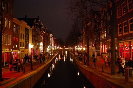 Red Light District - Amsterdam, Netherlands