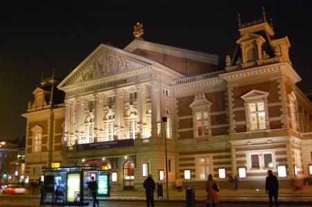 Concertgebouw - Amsterdam, Netherlands Lizenzfreie Bilder - 9559998