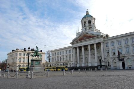 Place Royale - Brüssel, Belgien Lizenzfreie Bilder