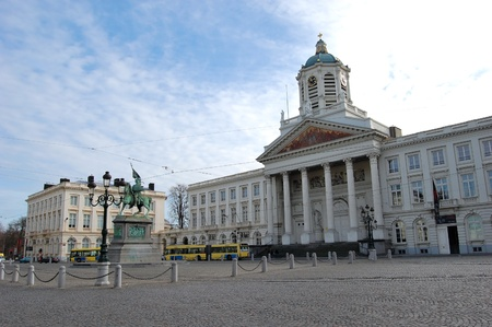 brussels: Place Royale - Brussels, Belgium
