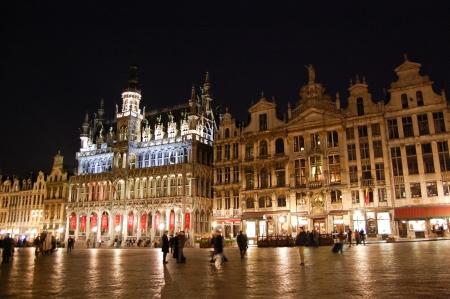 Grand Place - Brüssel, Belgien Standard-Bild - 9560113